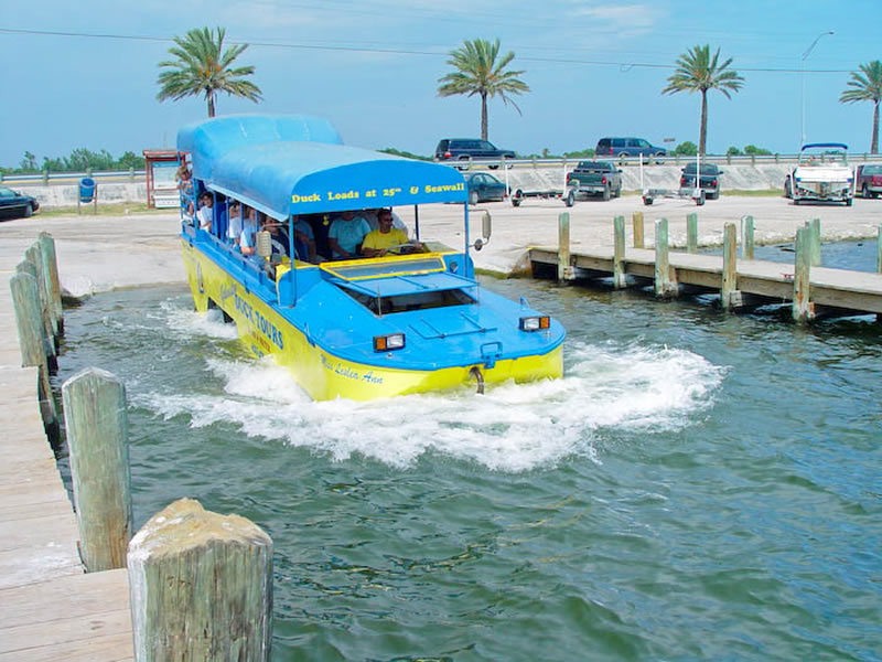 Galveston Island Duck Tours