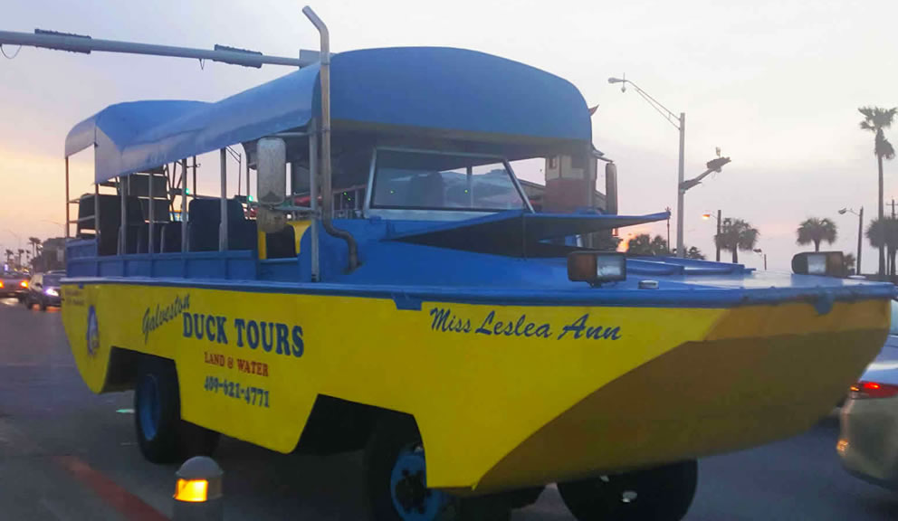 Galveston Island Duck Tours