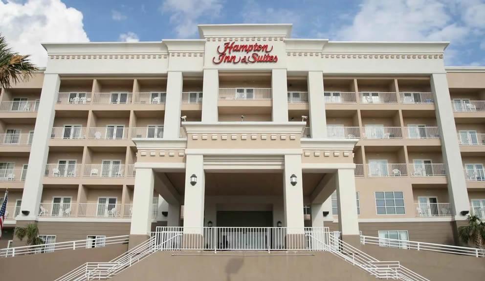 Hampton Inn Suites Galveston TX