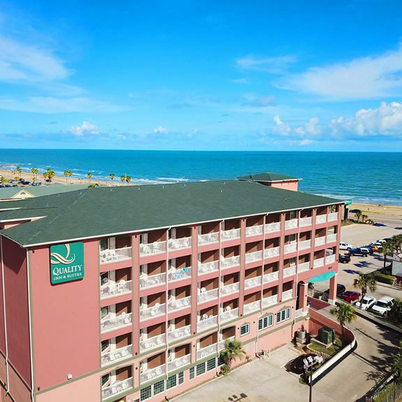 Quality Inn Beachfront Galveston