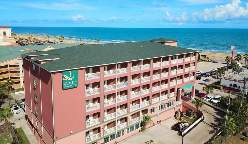 Quality Inn Beachfront Galveston TX