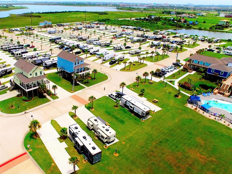 Stella Mare RV Park Galveston