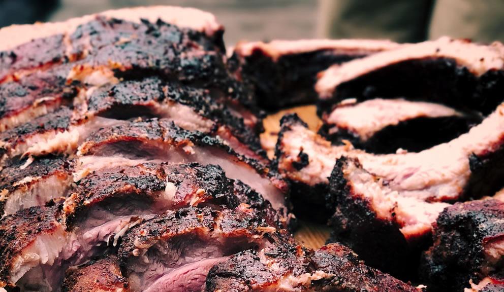 Leon's Worlds Finest BBQ, Galveston TX
