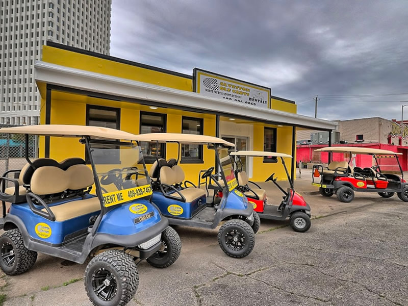 Galveston Golf Carts