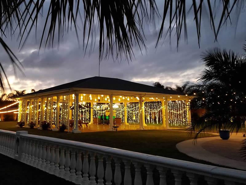 Galveston Island Palms Outdoor Parties