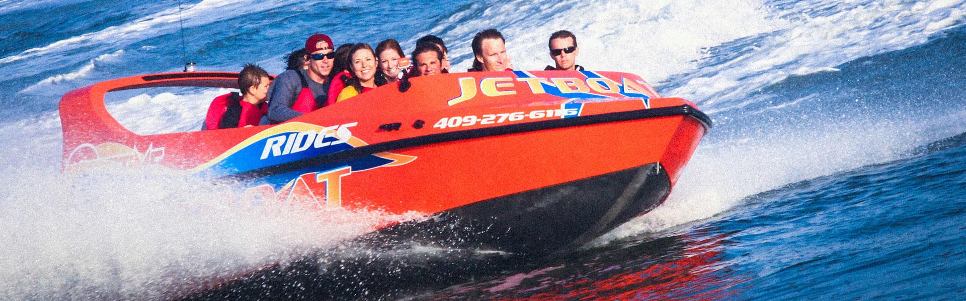 Galveston Water Adventures Jet Boat Ride
