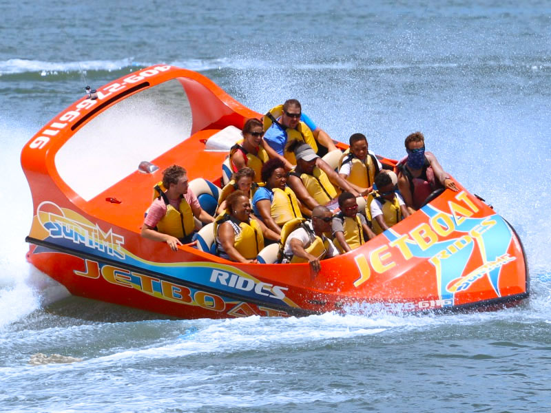 Galveston Water Adventures-Jet Boat Ride