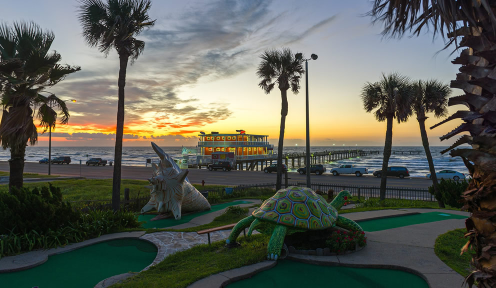 Magic Carpet Golf, Galveston TX