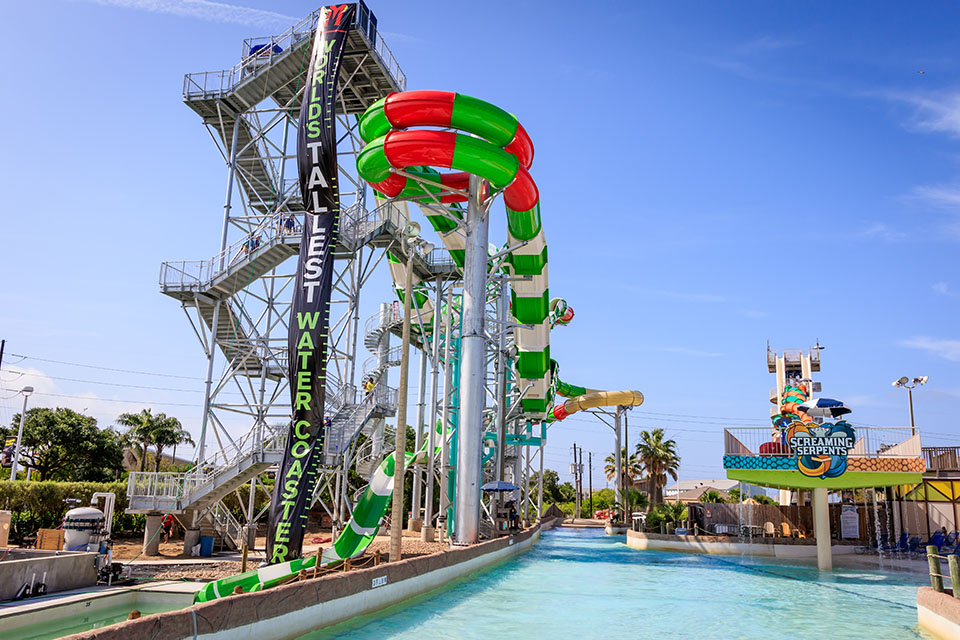 Schlitterbahn Waterpark MASSIV slide