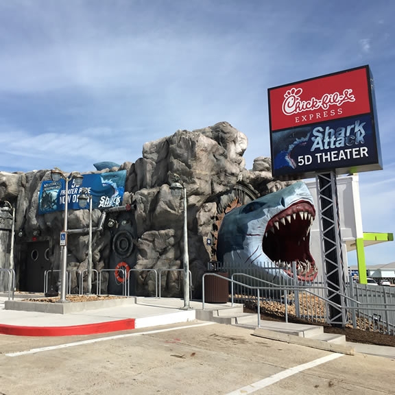 Shark Attack 5D Theater