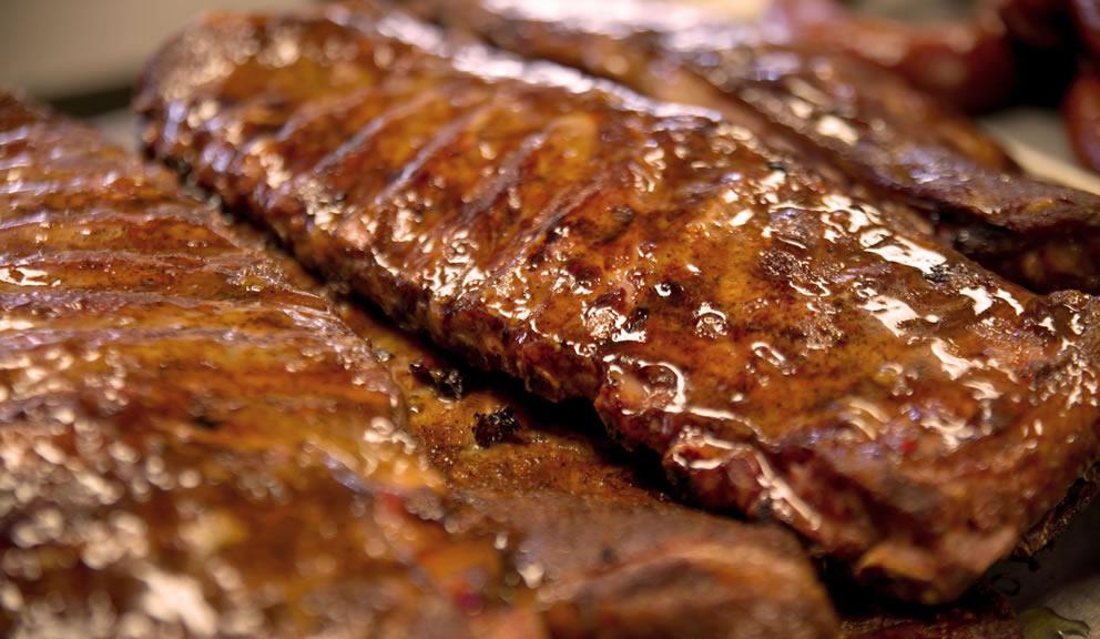 Texas Pit Stop BBQ Ribs, Galveston TX