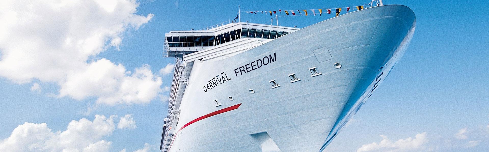 Carnival Freedom at Sea