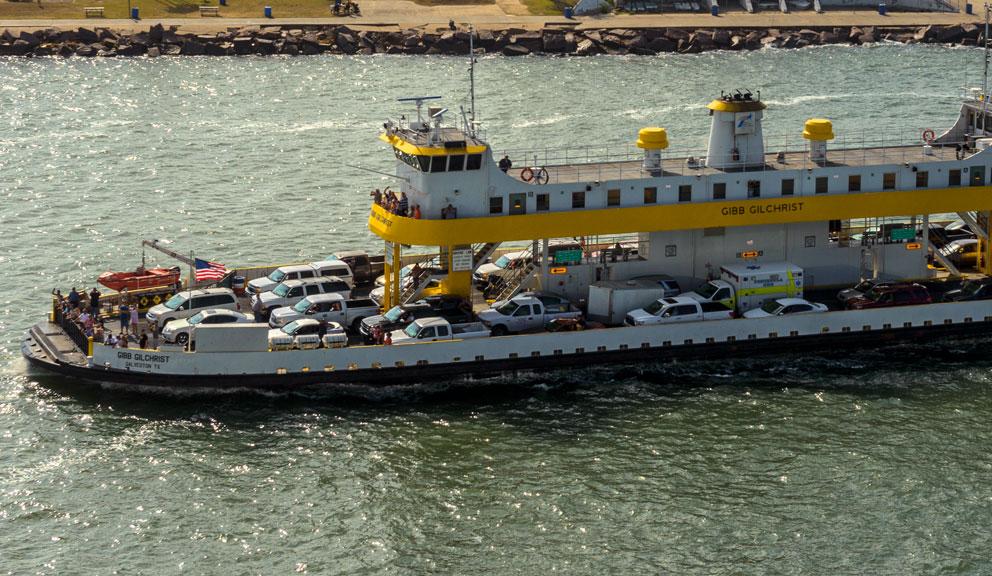 Galveston - Port Bolivar Ferry, Galveston, TX