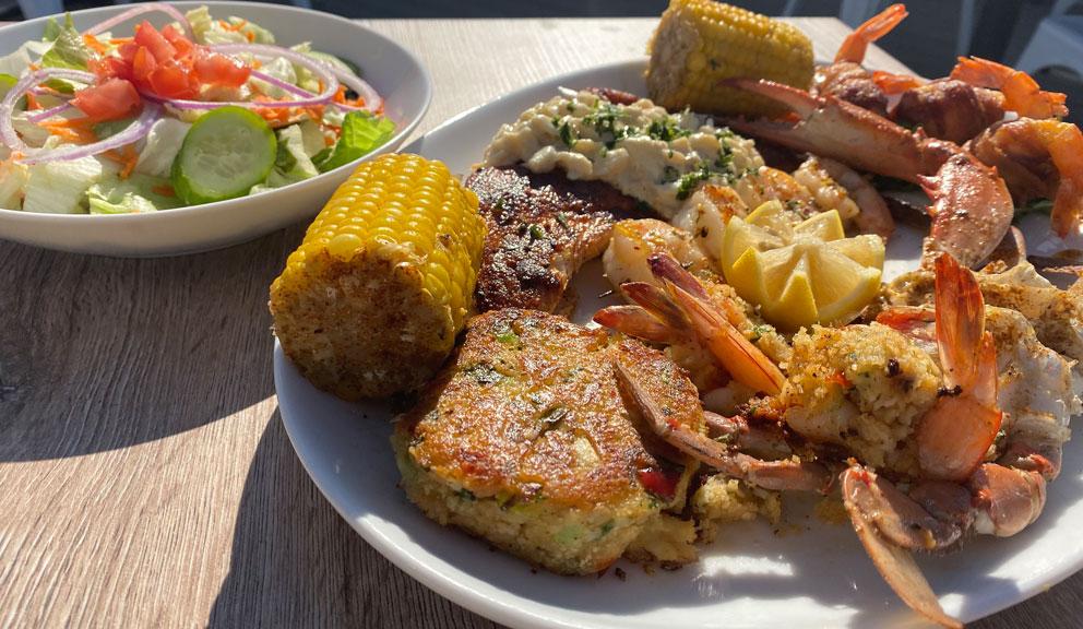Katie's Seafood House, Galveston TX