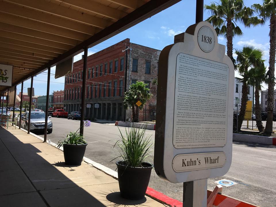 1838 Kuhns Wharf Historical Marker