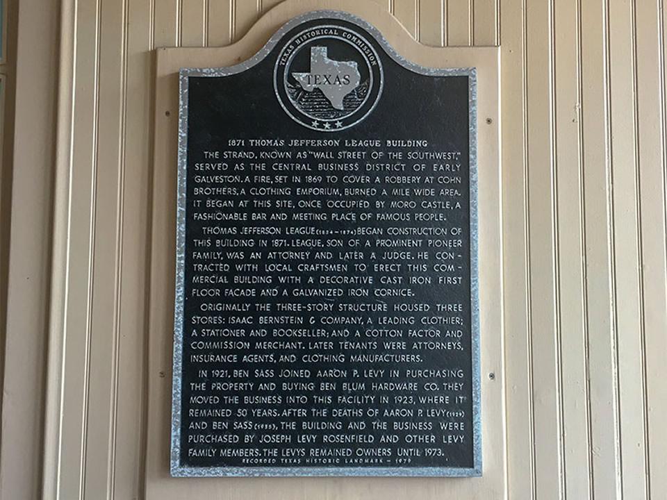 1871 Thomas Jefferson League Building