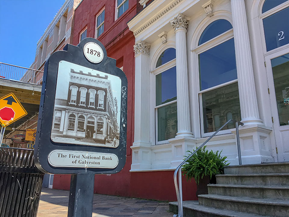 1878 The First National Bank of Galveston