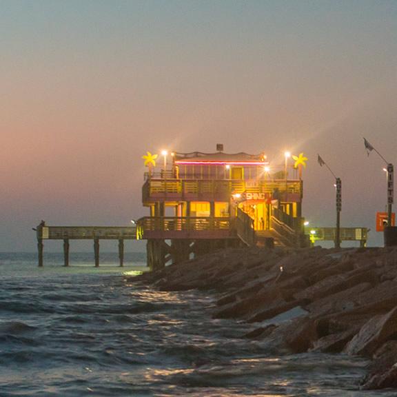 61st Street Fishing Pier, Galveston TX