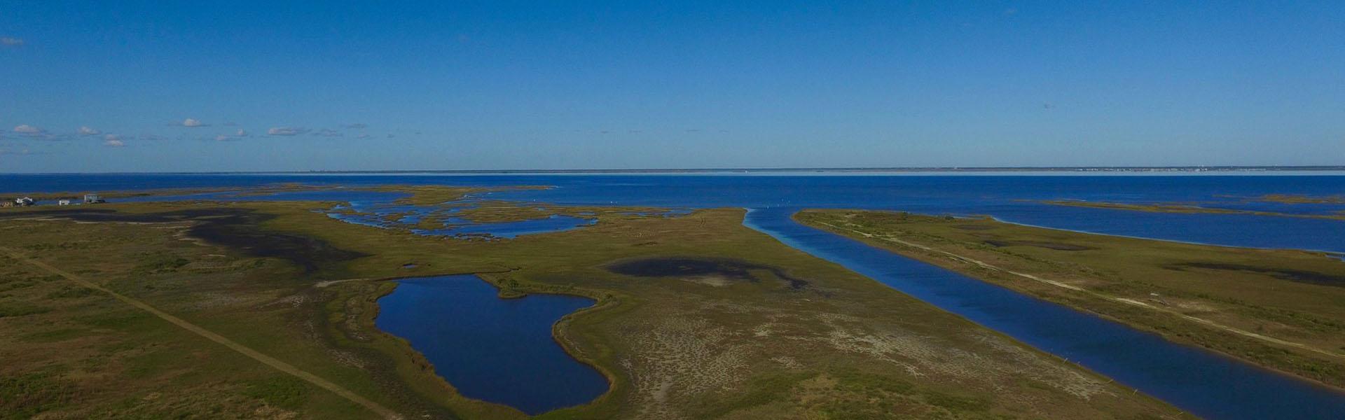 Arial View of Coastal Heritage Preserve