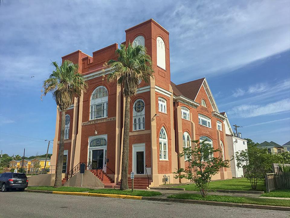 Avenue L Missionary Baptist Church Historical Marker