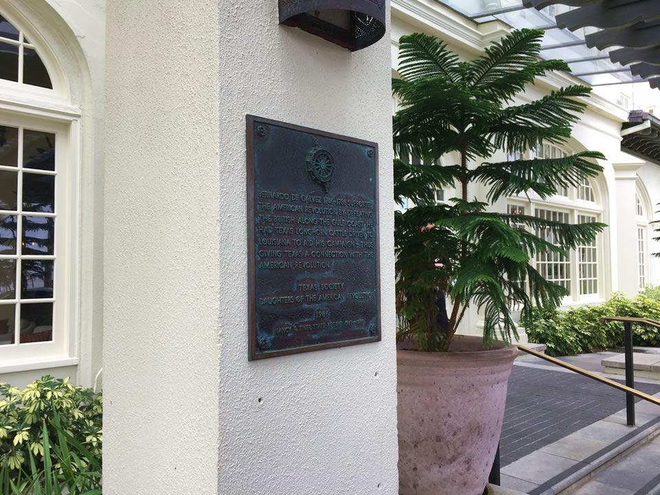 Bernardo de Galvez Historic Marker