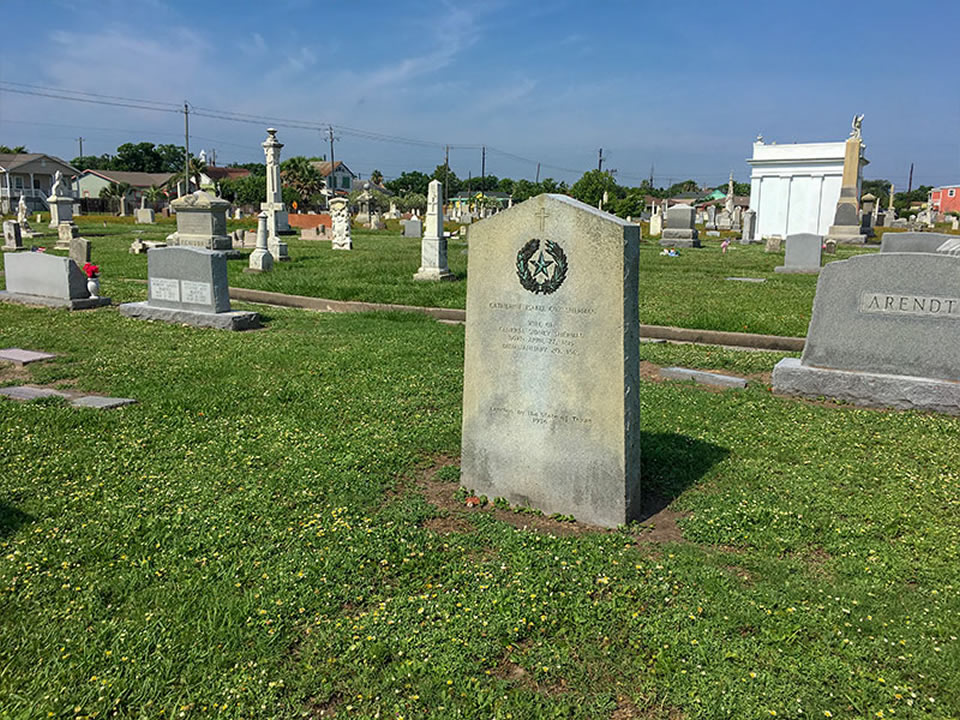 Catherine Isabel Cox Sherman Historical Marker