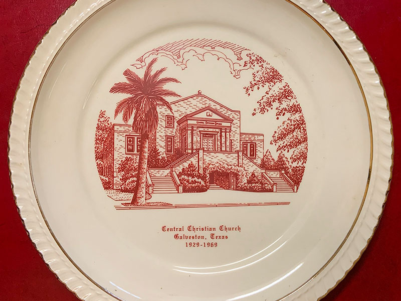 Central Christian Church Plate