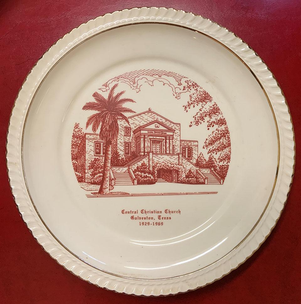 Central Christian Church Plate