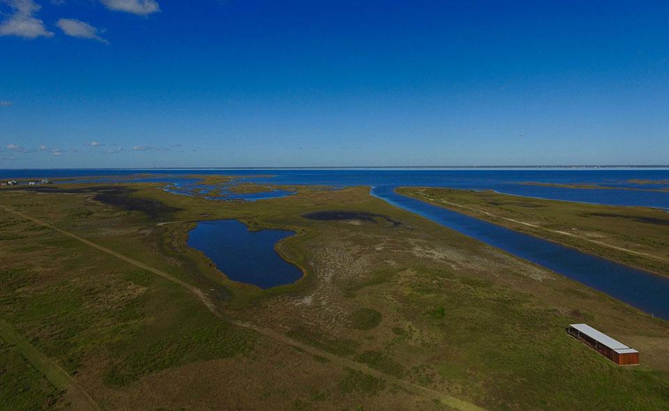 Coastal Heritage Preserve Arial View