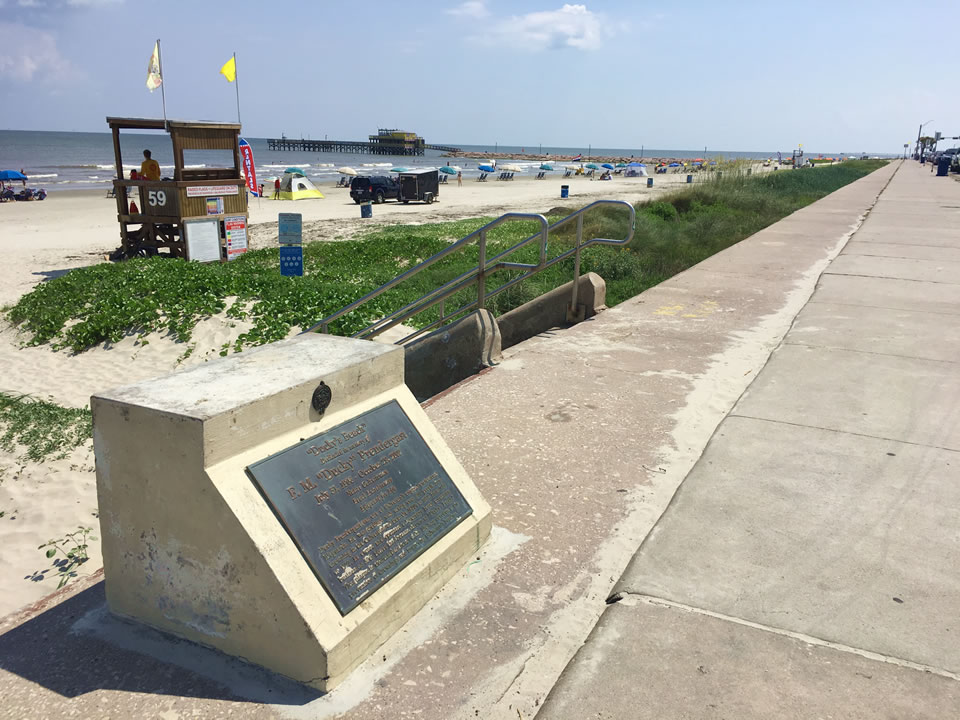 Ducky's Beach Historic Marker