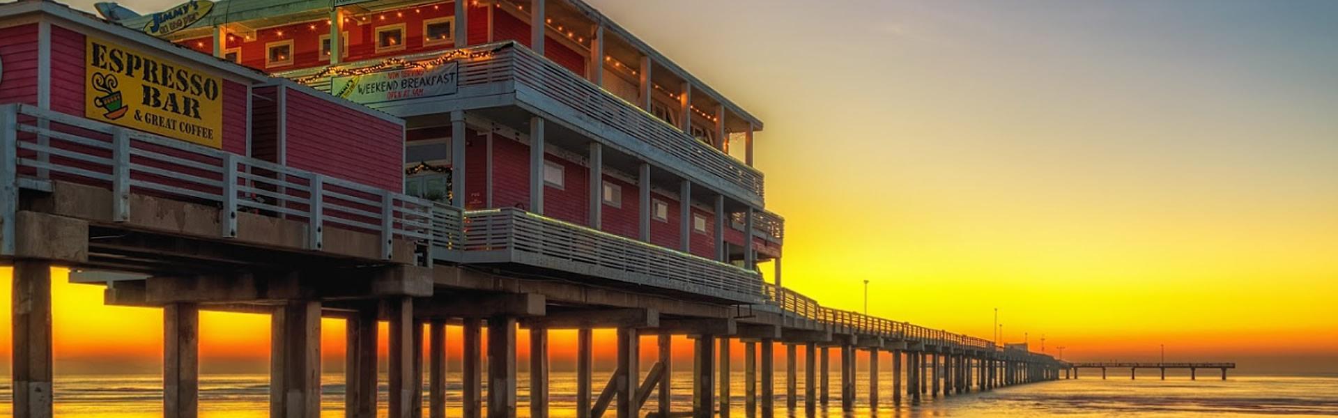 Galveston Fishing Pier, Galveston TX