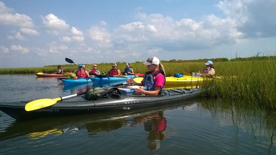 Kayak Adventure at the Coastal Heritage Preserve