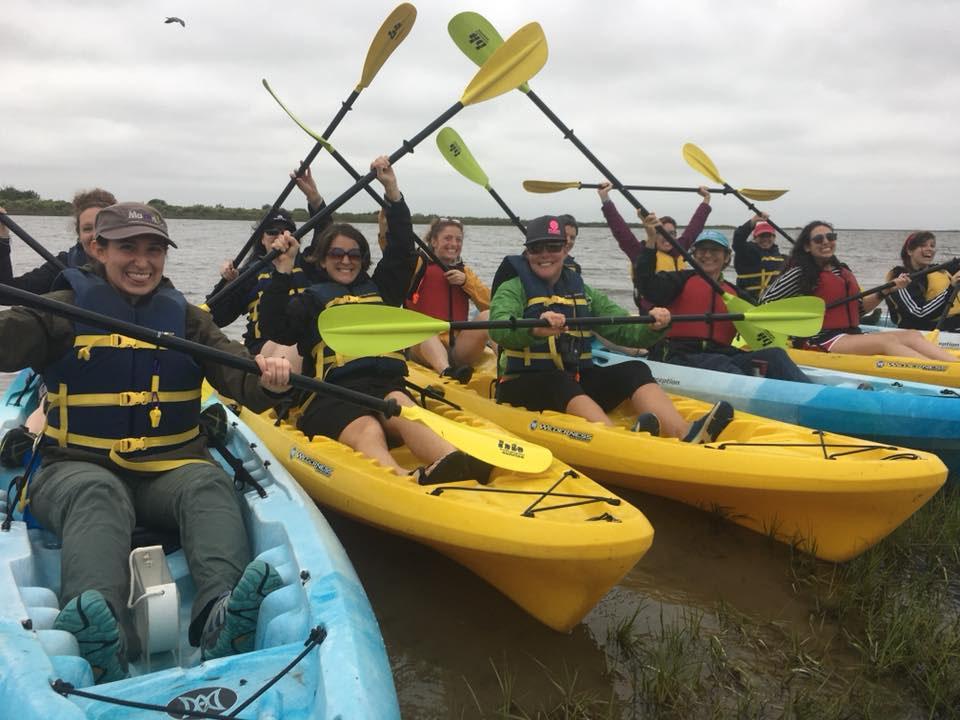 Kayakers at State Park