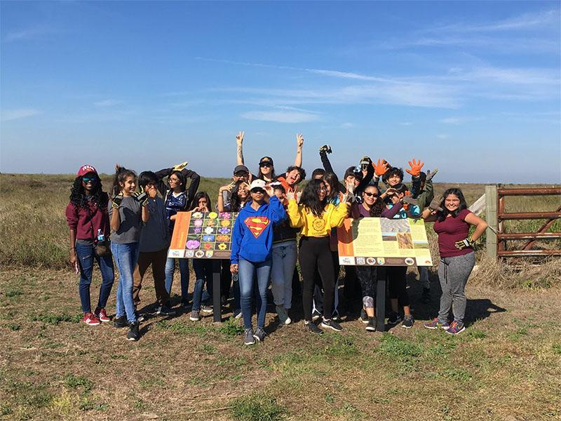 Kids at Coastal Heritage Preserve