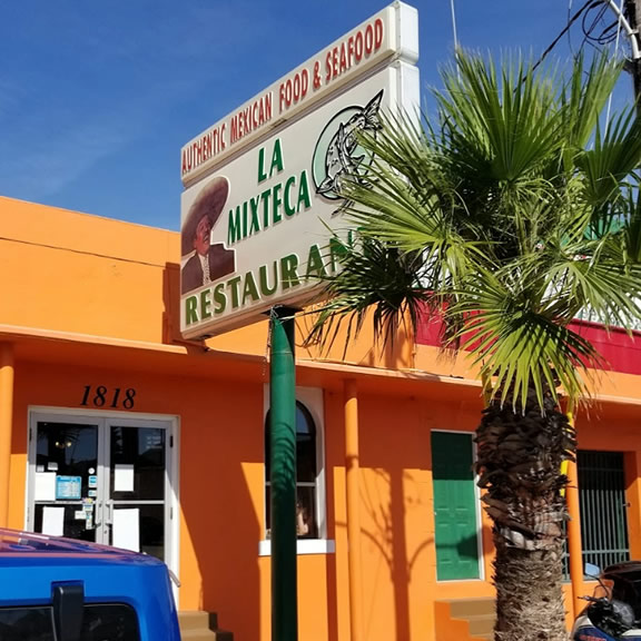La Mixteca Mexican Seafood Restaurant, Galveston TX