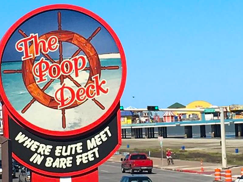Poop Deck, Galveston TX