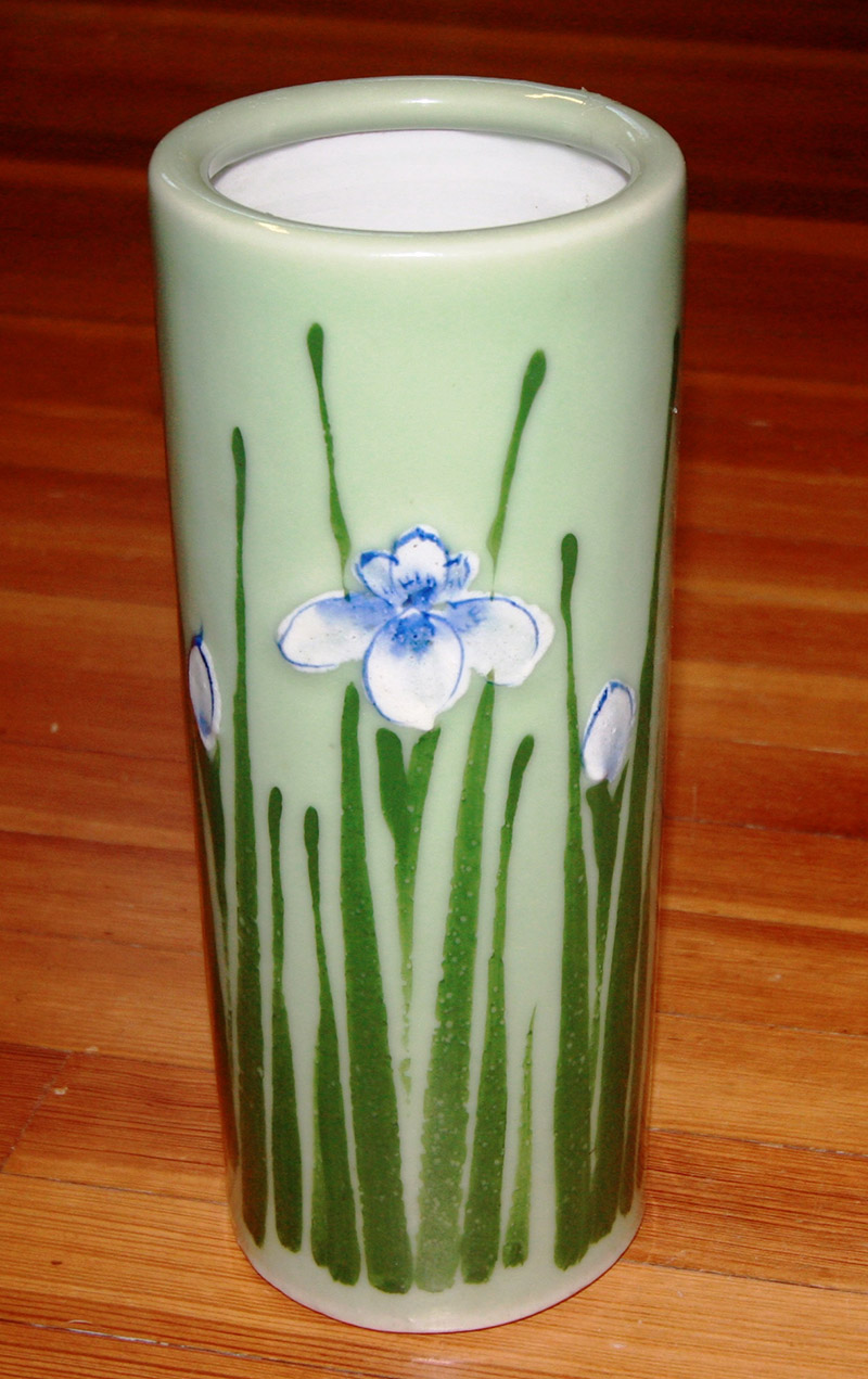 Flower Vase Donated to Library in 1905
