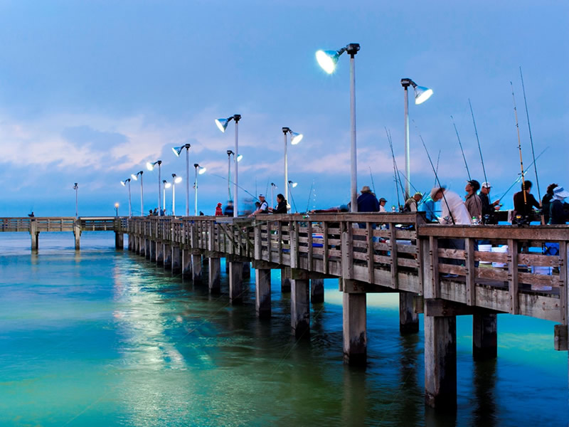 Seawolf Park Fishing Pier
