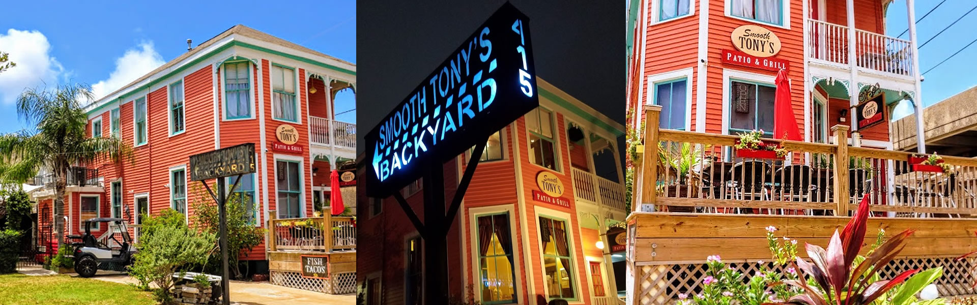Smooth Tony's Patio & Grill, Galveston TX