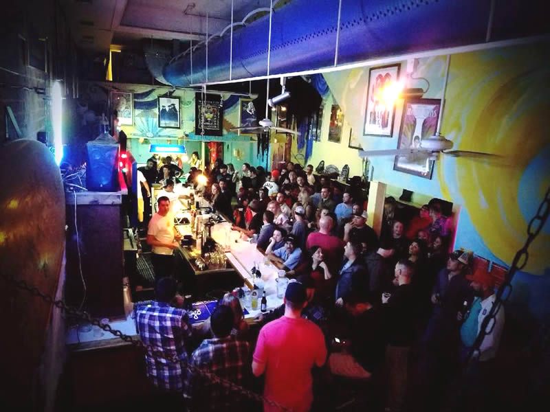 Tsunami Bar, Galveston TX