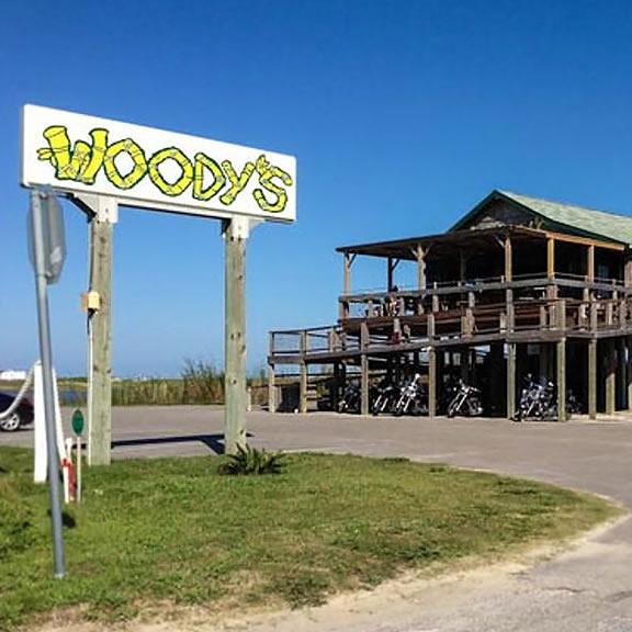 Woody's Beach Bar, Galveston TX