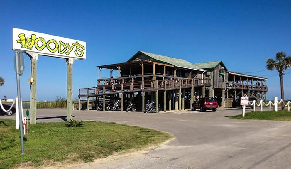 Exterior View of Flip Flops Beach Bar & Grill, Galveston TX