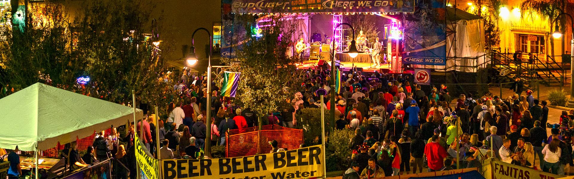 Mardi Gras Live Entertainment, Galveston, TX