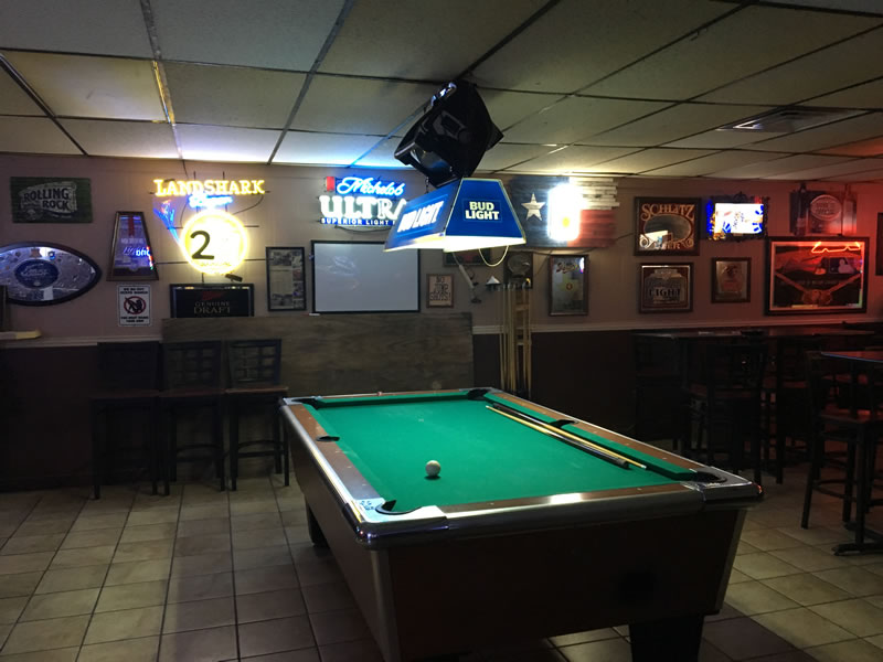 Albatross pool table