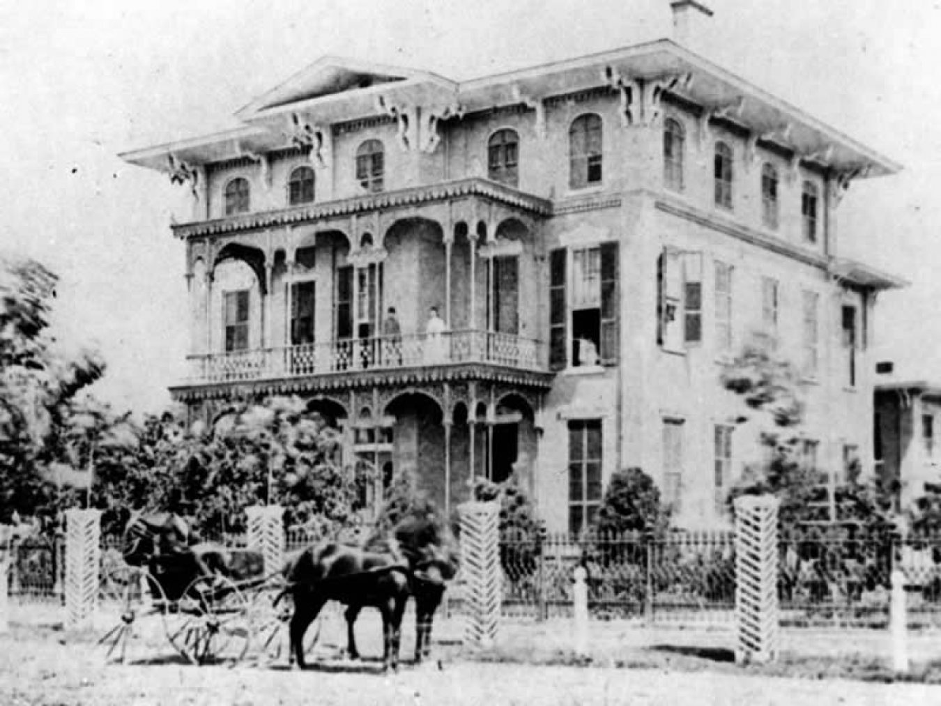 Ashton Villa Historic Photo