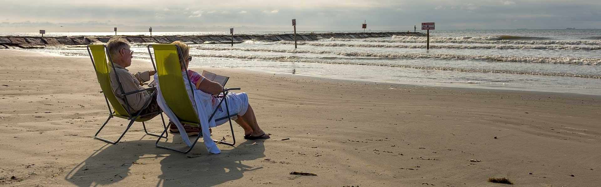 Couple Beach Chairs