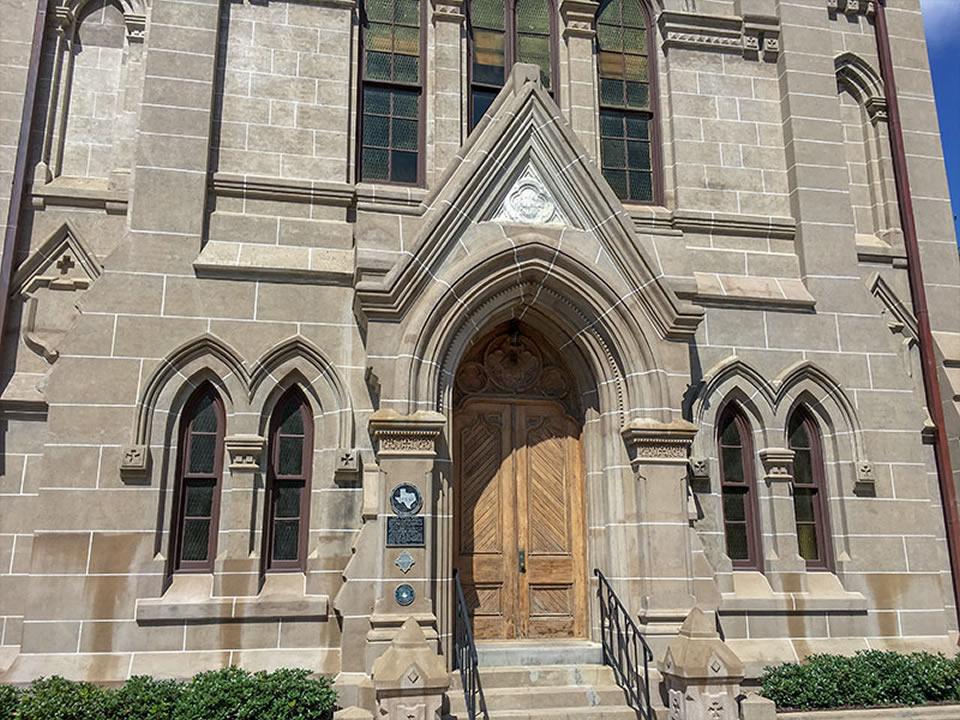 Eaton Memorial Chapel Historical Marker