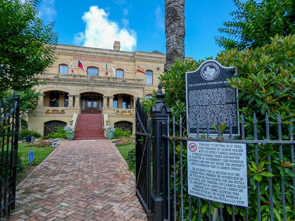 Galveston Orphans Home Historical Marker