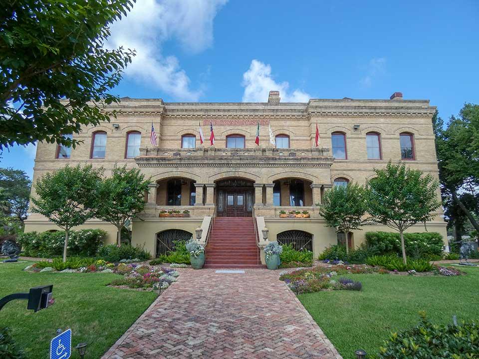 Galveston Orphans Home a Gift of Henry Rosenberg