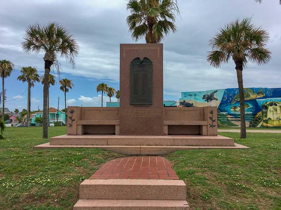 Galveston World War 1 Honor Roll Historical Marker